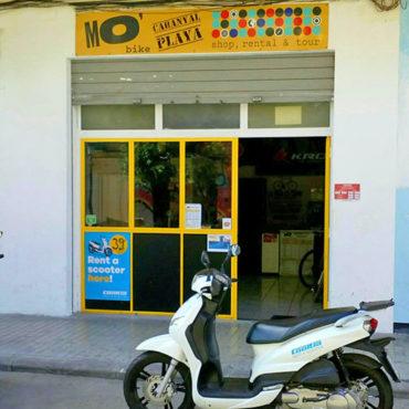 aluguer motas cooltra playa malvarrosa valencia mobike
