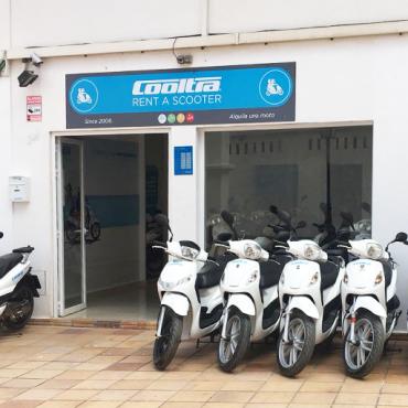 tienda alquiler motos ibiza san antonio