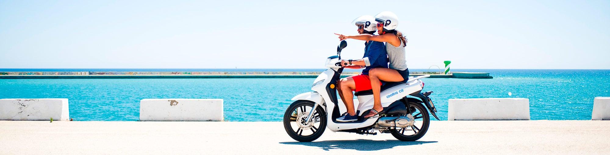 Alquiler de motos por días - Cooltra, líder en movilidad